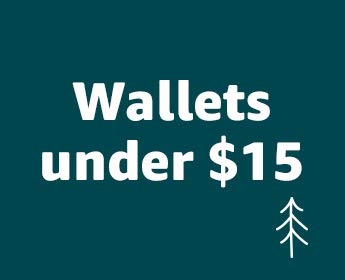 Men's wallets under $15