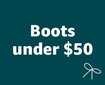 Men's boots under $50