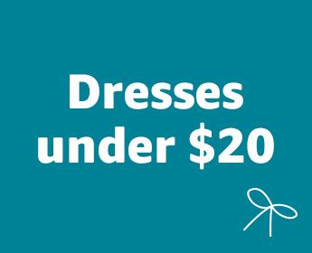 Women's dresses under $20