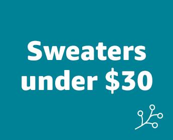 Women's sweaters under $30