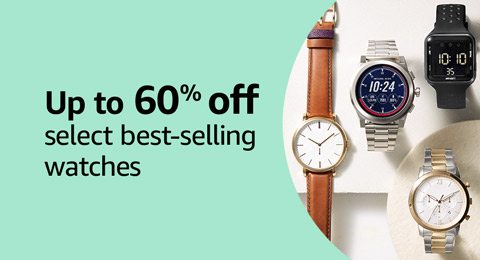 Up to 60% off select best-selling watches
