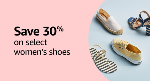Save 30% on select women's shoes