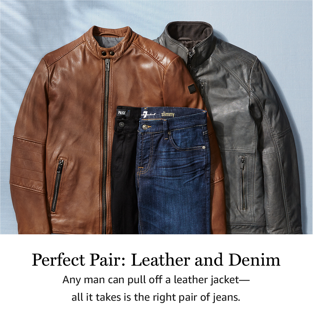 Perfect Pair: Leather and Denim