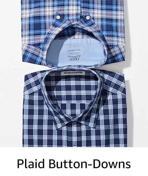 Plaid Button-Downs