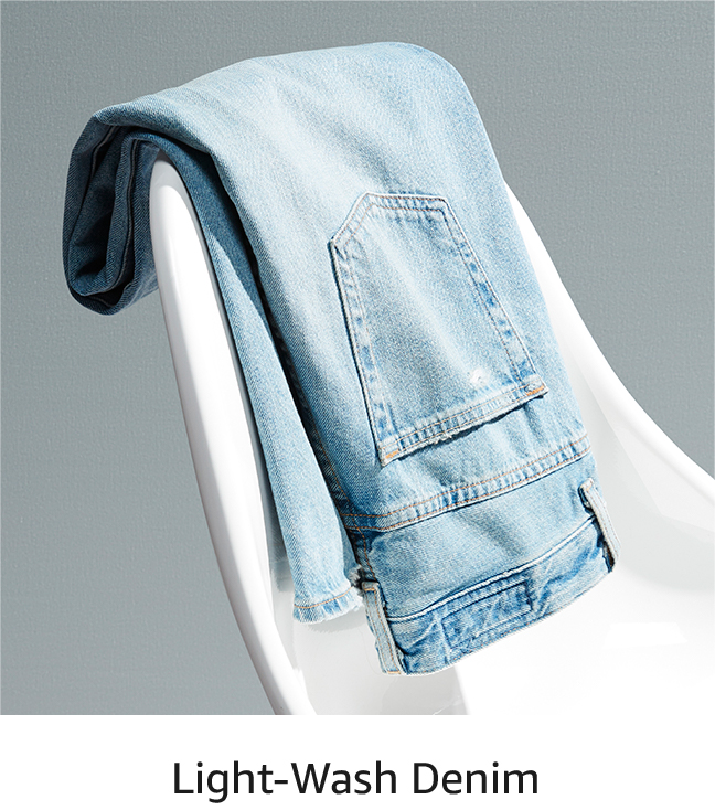 Light-Wash Denim
