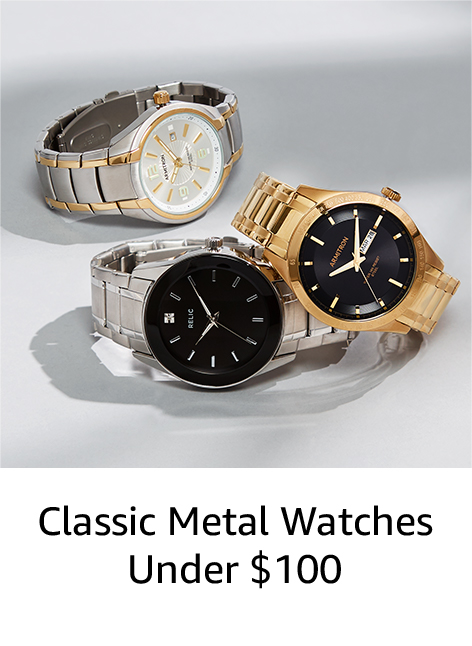 Classic Metal Watches Under $100