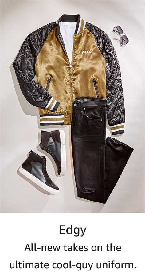 Shop by style: Edgy