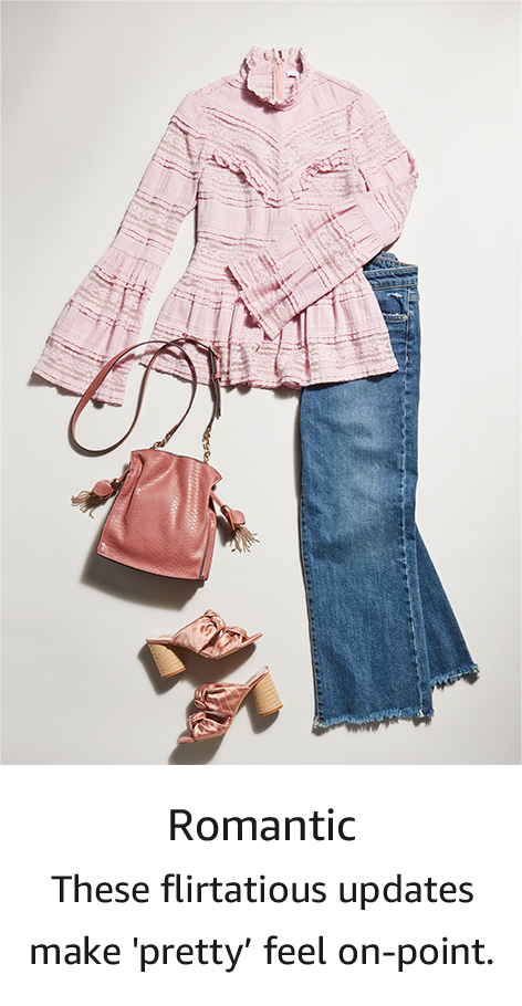 Shop your style: Romantic