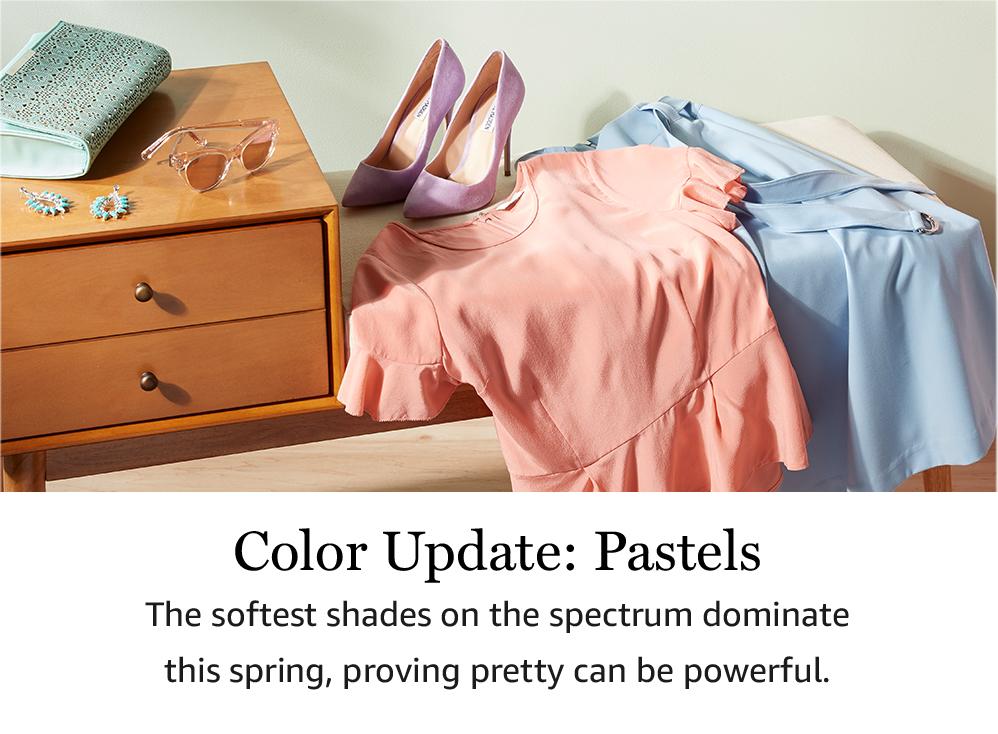 Color Update: Pastels