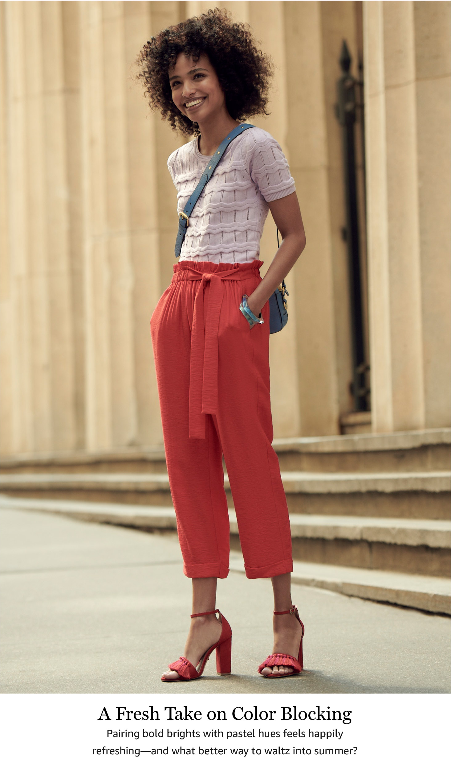 A Fresh Take on Color Blocking