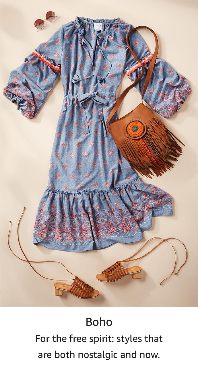 Shop your style: Boho