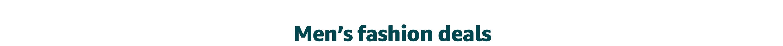Men's fashion deals