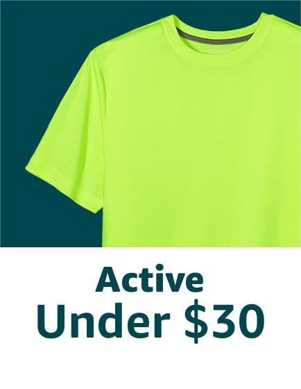 Active under $30