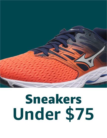 Sneakers under $75