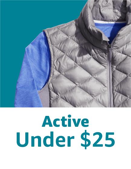 Active under $25