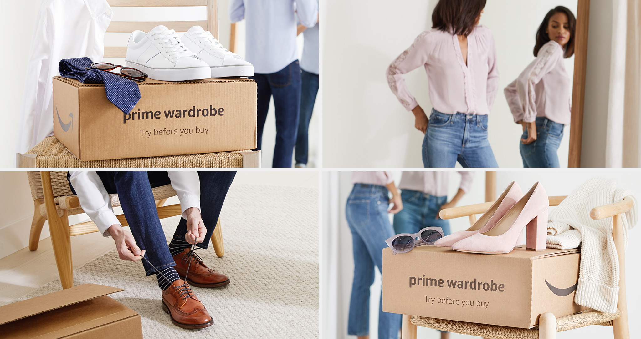 Amazoncom Learn More About Prime Wardrobe Clothing Shoes Jewelry - Free invoice service best kids clothing stores online