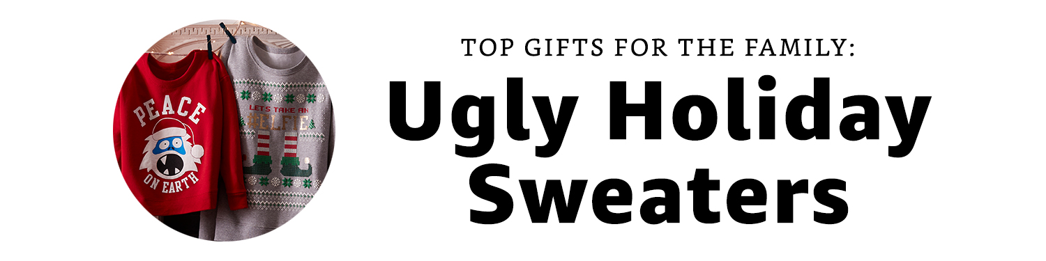 Gifts for the Family: Ugly Holiday Sweaters