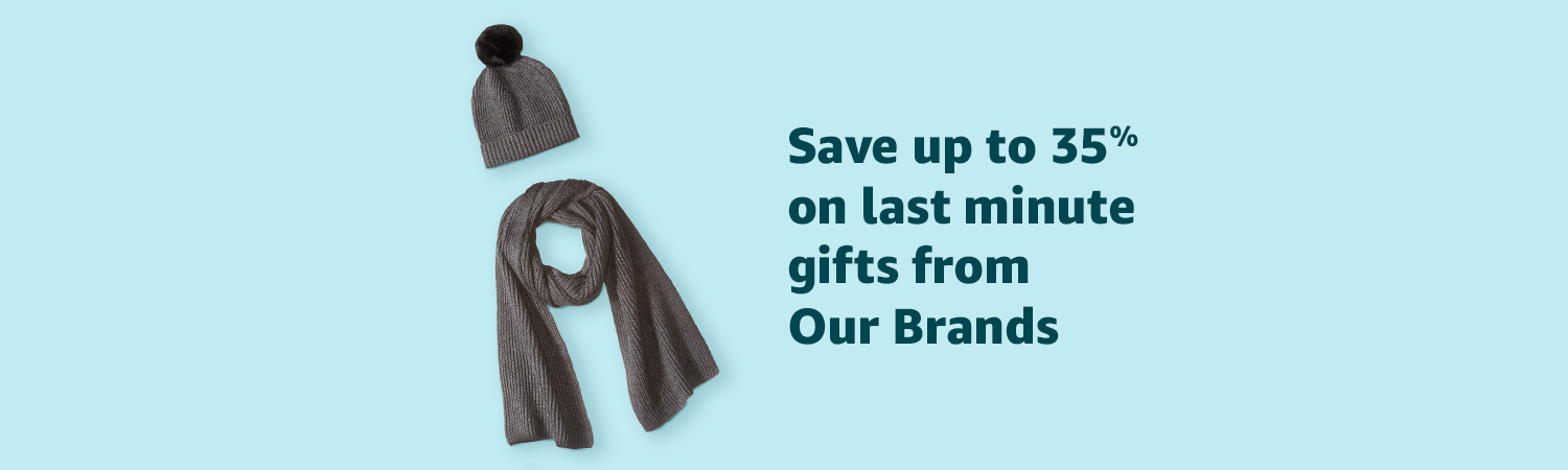 Save up to 35% on last minute gifts from Our Brands