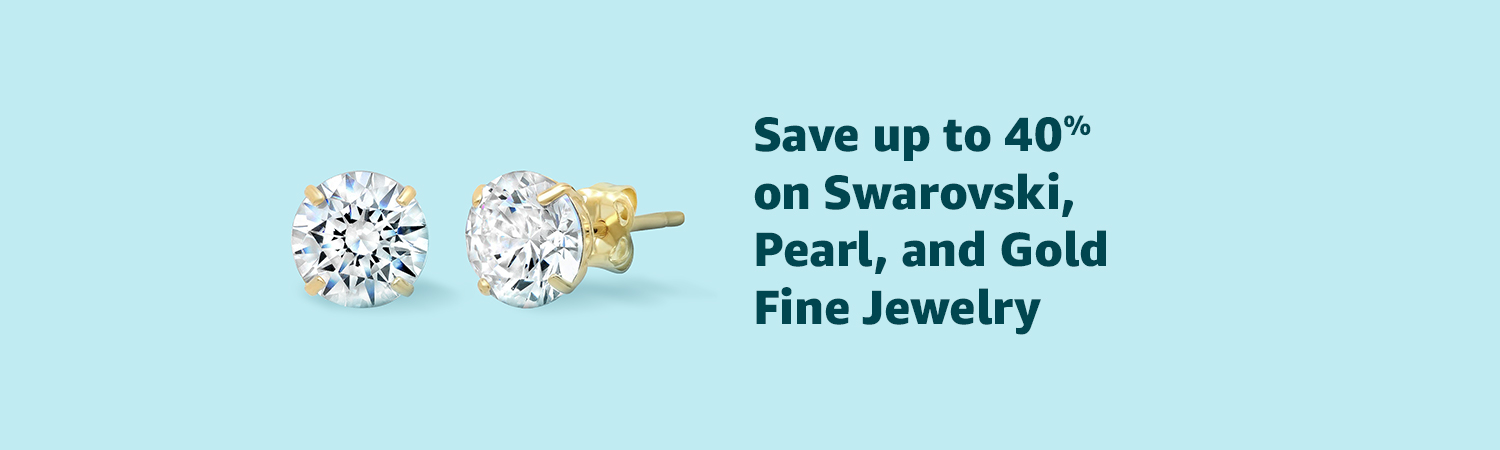 Save up to 40% on Swarovski, Pearl, and Gold Fine Jewelry