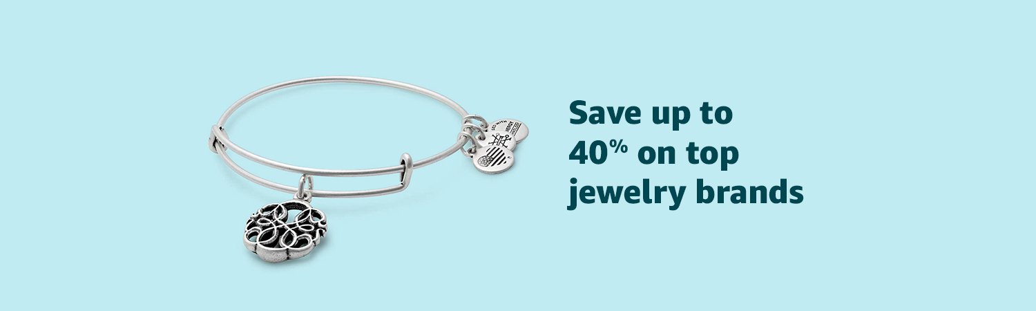 Save up to 40% on top jewelry brands