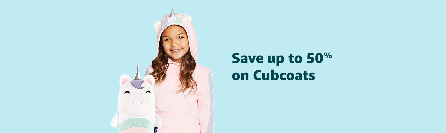Up to 50% on Cubcoats