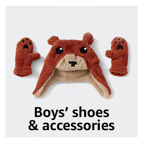 Boys' shoes & accessories