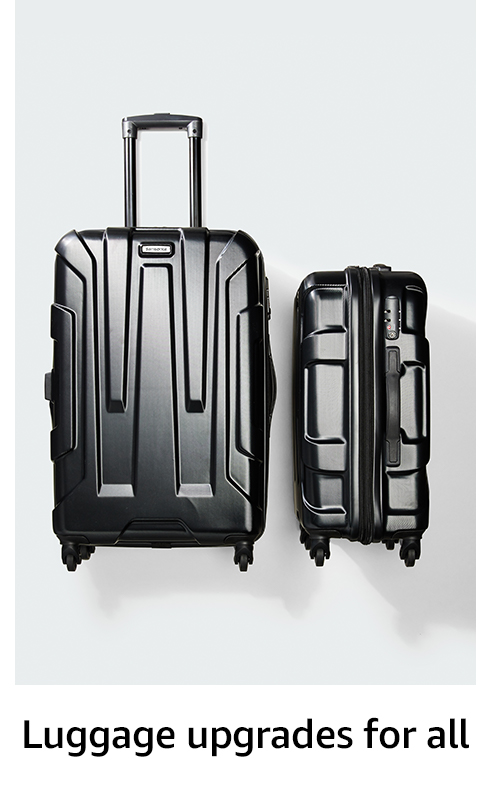 Luggage upgrades for all