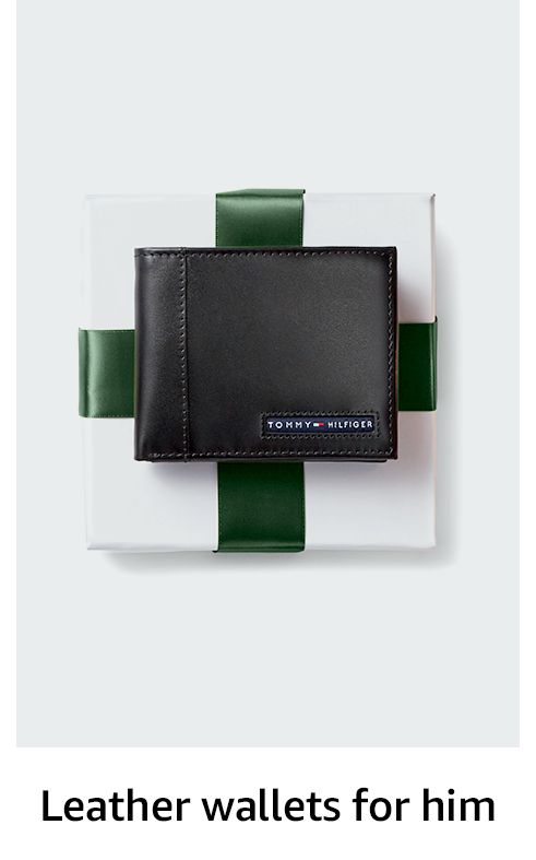 Leather wallets for him