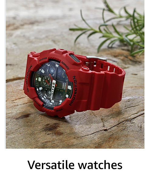 Versatile watches