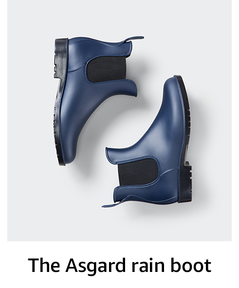 The Asgard rain boot