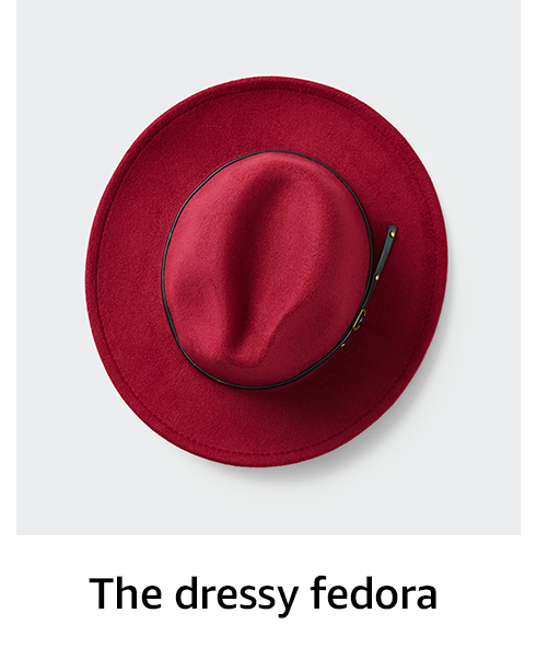 The dressy fedora
