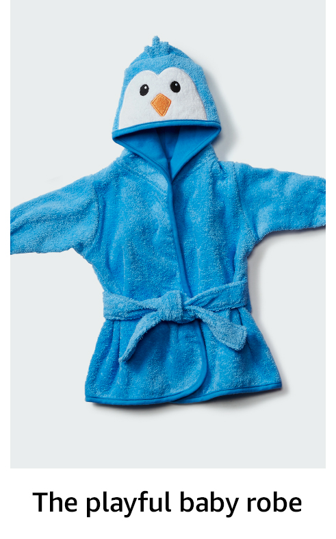 The playful kids' robe