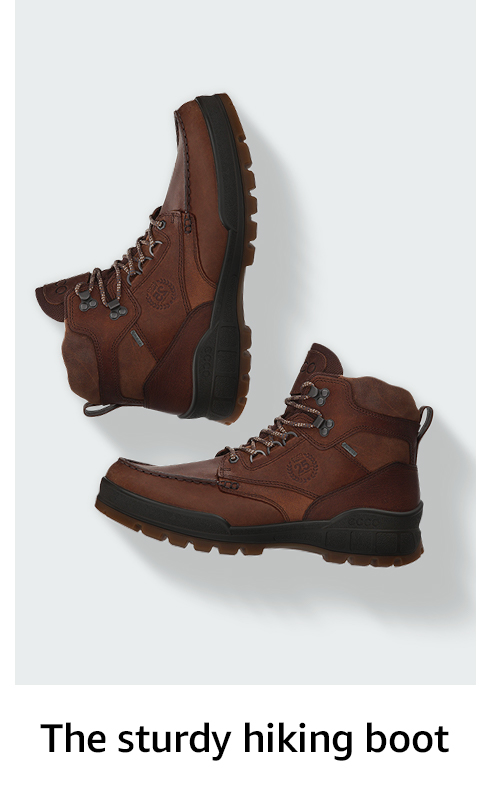 The sturdy hiking boot