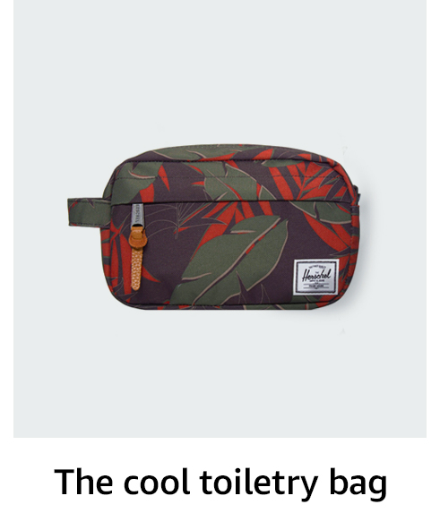 The cool toiletry bag
