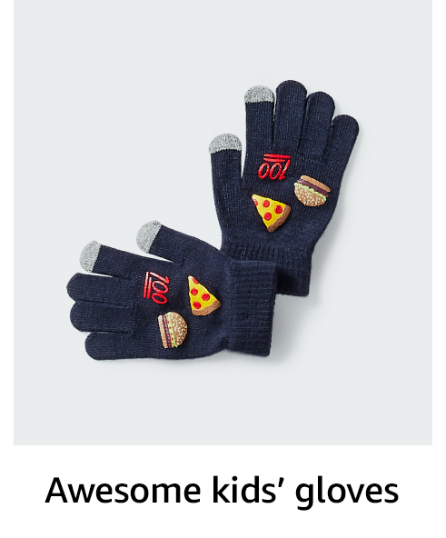Awesome kids' gloves