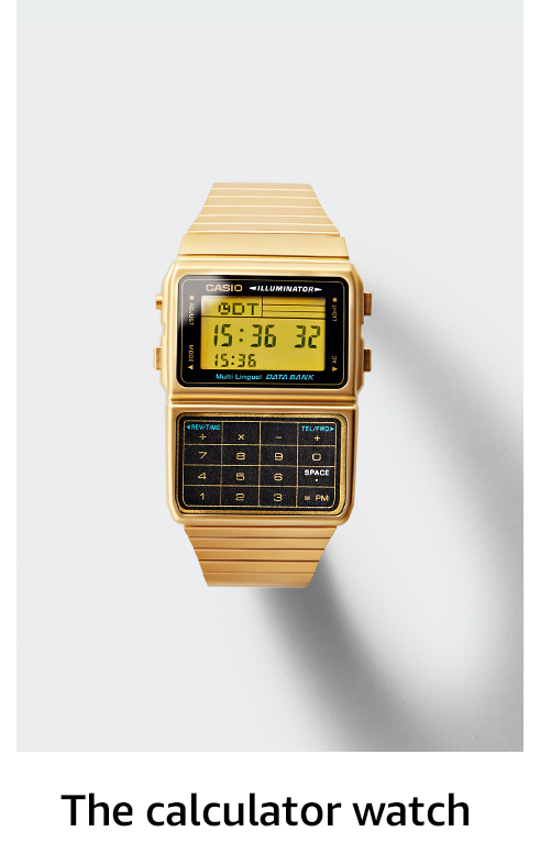 The calculator watch
