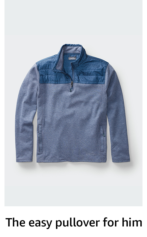 The easy pullover for him