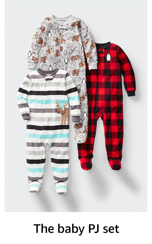 The baby PJ set