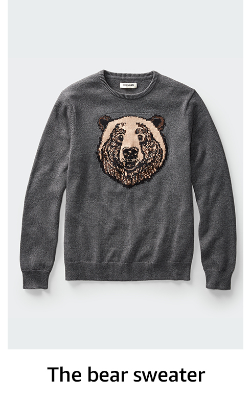 The bear sweater