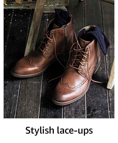 Stylish lace-ups