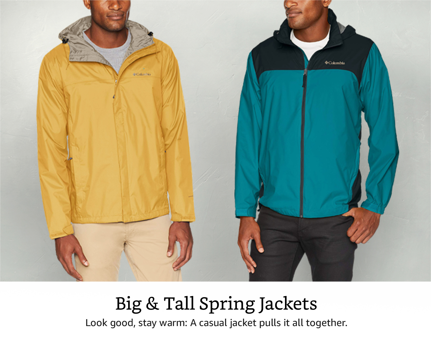 Big and Tall Spring Jackets