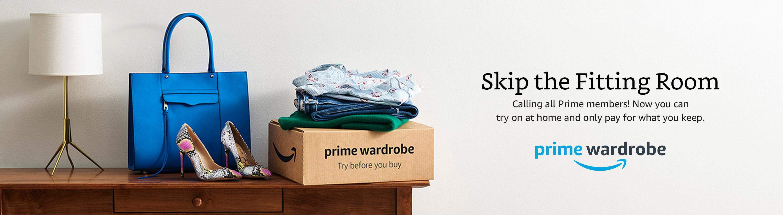 Shop with Prime Wardrobe