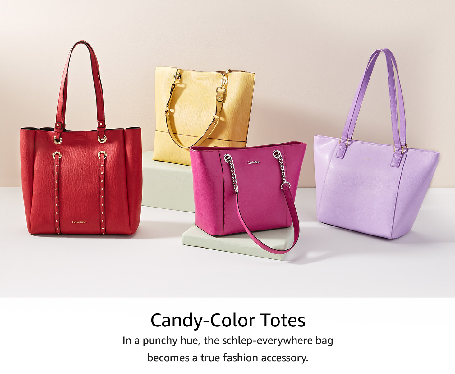 Candy-Color Totes