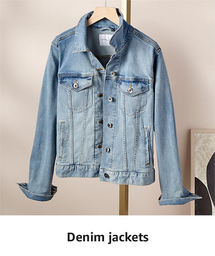 Stock up on the essentials: Denim Jackets