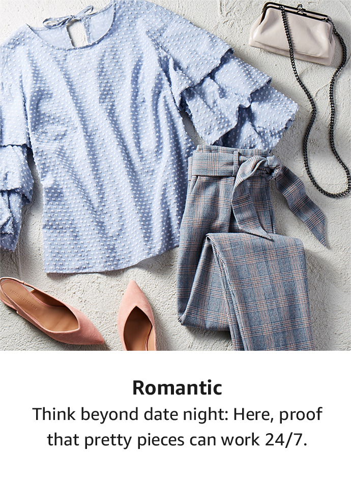 Shop by style: Romantic