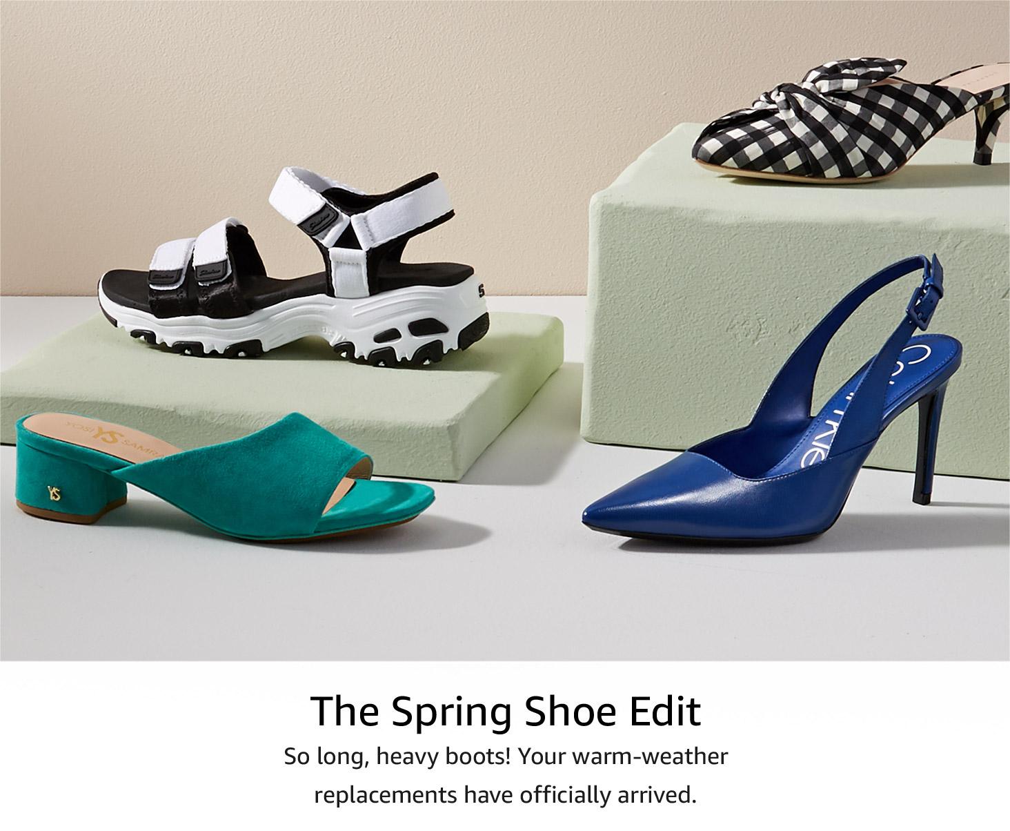 Spring Shoe Update