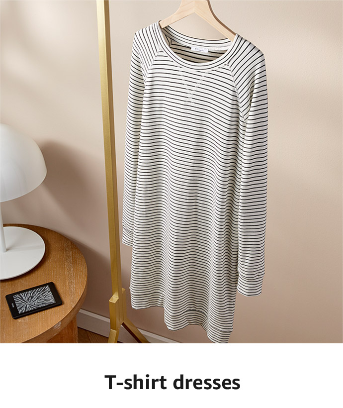 Stock up on the essentials: T-shirt dresses