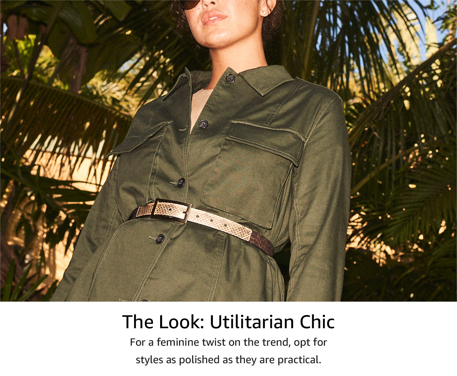 The look: utilitarian chic