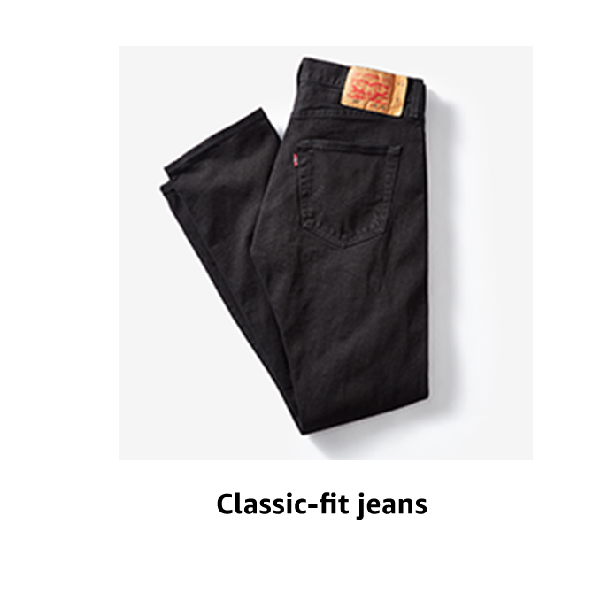 Classic-fit jeans
