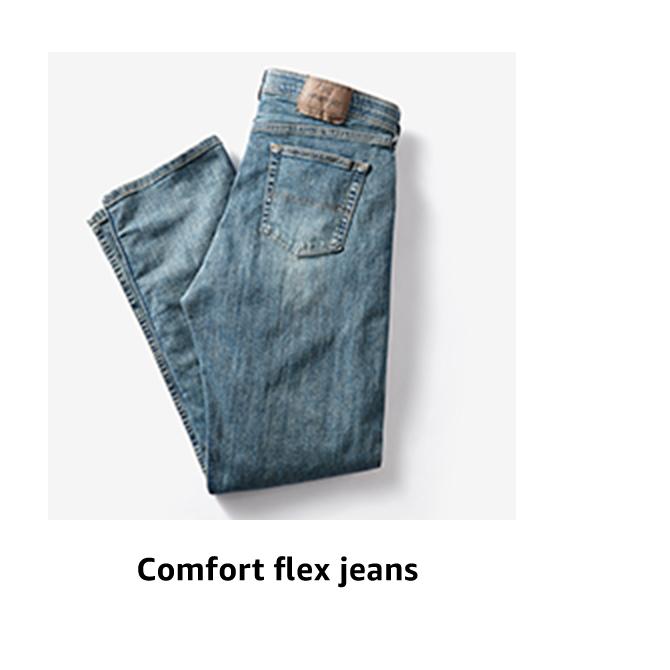 Comfort flex jeans